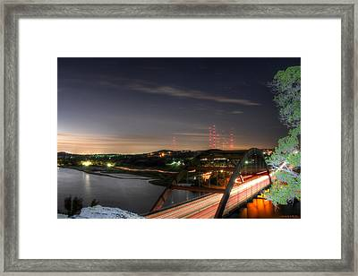 360 Sunrise Framed Print by Andrew Nourse