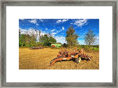 Framed Print featuring the photograph 3631-7-201 by Lewis Mann