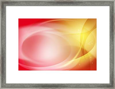 Abstract Background. Framed Print by Les Cunliffe