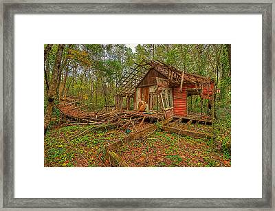 Framed Print featuring the photograph 3652-8-202 by Lewis Mann