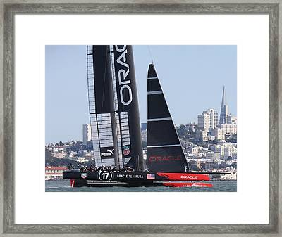 America's Cup 34 Framed Print