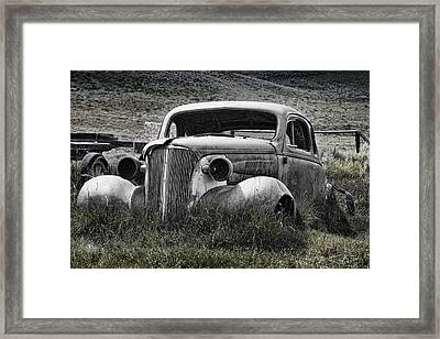 37 Chev Framed Print by Kelley King