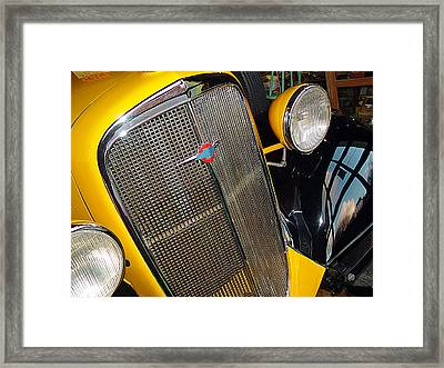 37 Chevy Panel Delivery Framed Print