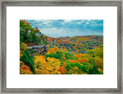Conkle's Hollow Framed Print