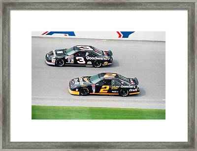Dale Earnhardt Framed Print by Retro Images Archive
