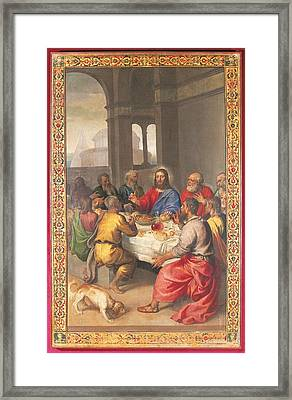 Italy, Marche, Pesaro Urbino, Urbino Framed Print