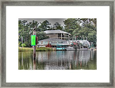 #37 On The Bon Secour Framed Print by Lynn Jordan