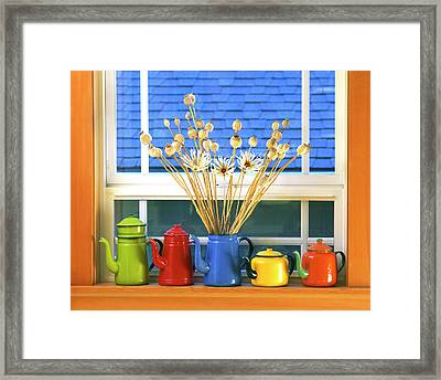 Usa, Oregon, Portland Framed Print by Jaynes Gallery
