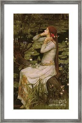Victorian Art Piece Framed Print by Indian Summer