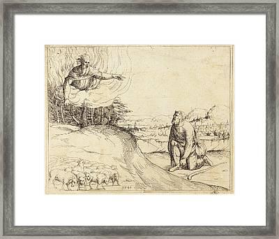 Augustin Hirschvogel German, 1503 - 1553 Framed Print