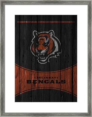 Cincinnati Bengals Framed Print by Joe Hamilton