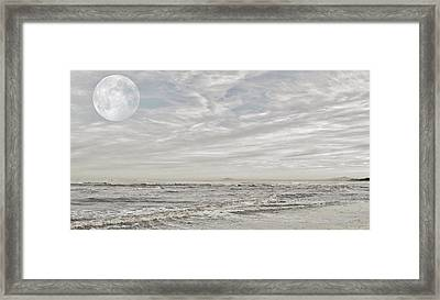 Full Moon Framed Print