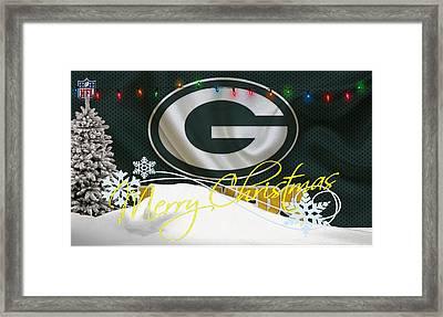 Green Bay Packers Framed Print by Joe Hamilton