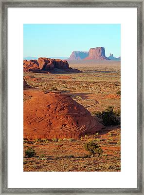 North America National Parks Framed Print