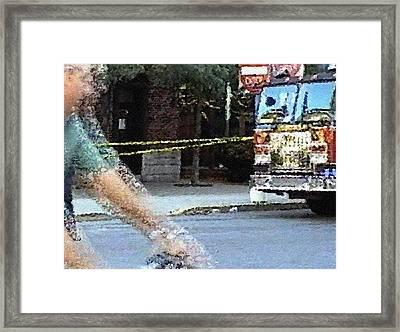 #36 Sands Of Time Framed Print