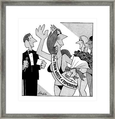 New Yorker April 14th, 2008 Framed Print