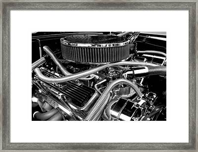 383 Small Block Framed Print
