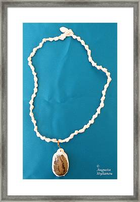 Aphrodite Gamelioi Necklace Framed Print by Augusta Stylianou
