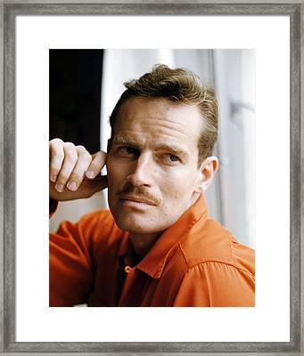 Charlton Heston Framed Print by Silver Screen