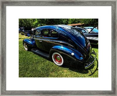 '39 Dodge Sedan 002 Framed Print by Lance Vaughn