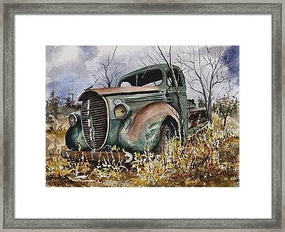 39 Ford Truck Framed Print
