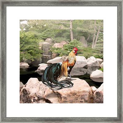 39. Phoenix Framed Print by Sigrid Van Dort