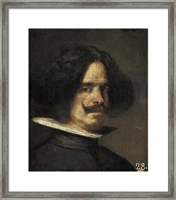Velazquez, Diego Rodr�guez De Silva Framed Print by Everett