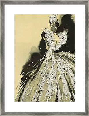 Women�s Fashion 1930s 1939 1930s Uk Framed Print by The Advertising Archives