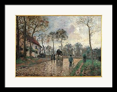 Camille Pissarro Photographs Framed Prints