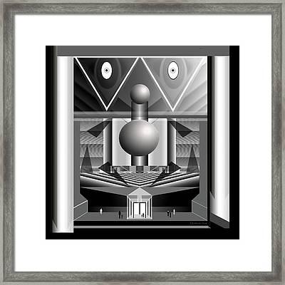 393 -  Great Housing Machine ... Framed Print