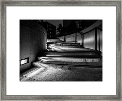 3am Portland Framed Print by Bob Orsillo