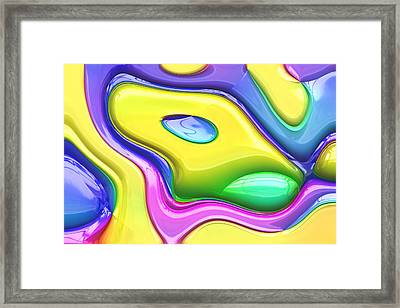 Abstract Series 16 Framed Print