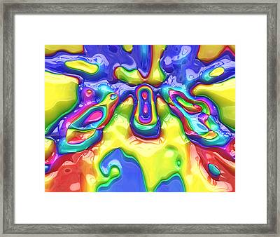 Abstract Series 18 Framed Print