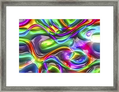 Abstract Series 38 Framed Print