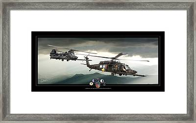 3rd Battalion Special Ops Framed Print by Larry McManus