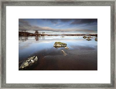 Lochan Na H-achlaise Framed Print by Grant Glendinning