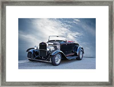 1930 Ford Model A Roadster Framed Print by Dave Koontz