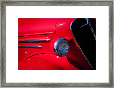 1936 Chevy Coupe Framed Print by David Patterson