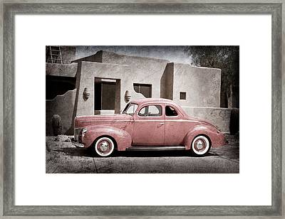 1940 Ford Deluxe Coupe Framed Print