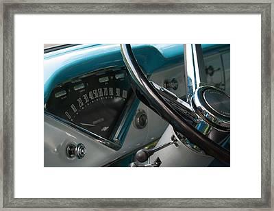1956 Chevy 3100 Framed Print