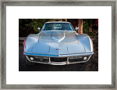 1969 Chevrolet Corvette 427 Framed Print
