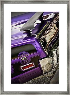 1970 Dodge Coronet Super Bee Framed Print by Gordon Dean II