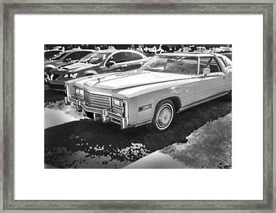 1978 Cadillac Eldorado Framed Print by Rich Franco