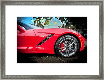 2014 Chevrolet Corvette C7  Framed Print