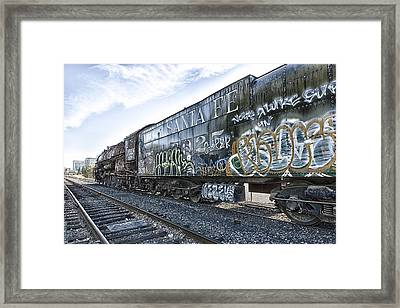 4 8 4 Atsf 2925 In Repose Framed Print by Jim Thompson