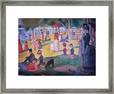 A Sunday On La Grande Jatte Framed Print