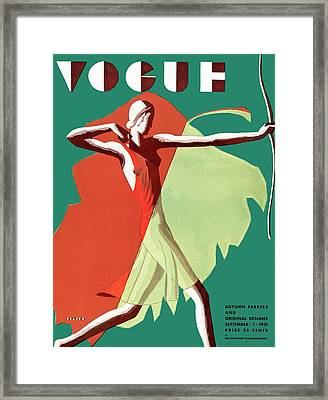 Vogue Magazine Covers framed-posters, Posters and
