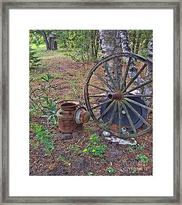 Abandoned - Hdr Grunge Framed Print
