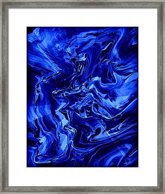 Abstract 28 Framed Print by J D Owen