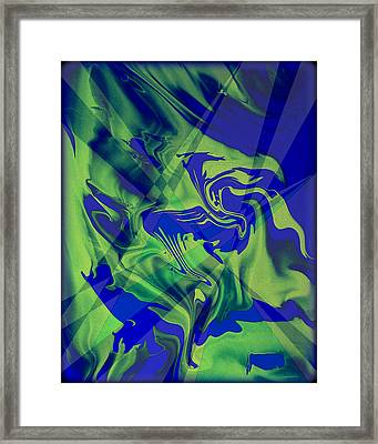 Abstract 32 Framed Print by J D Owen